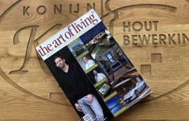 Droomhuis in magazine 'The Art of Living'